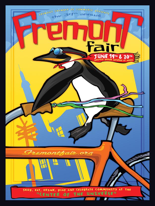 2010 Fremont fair poster