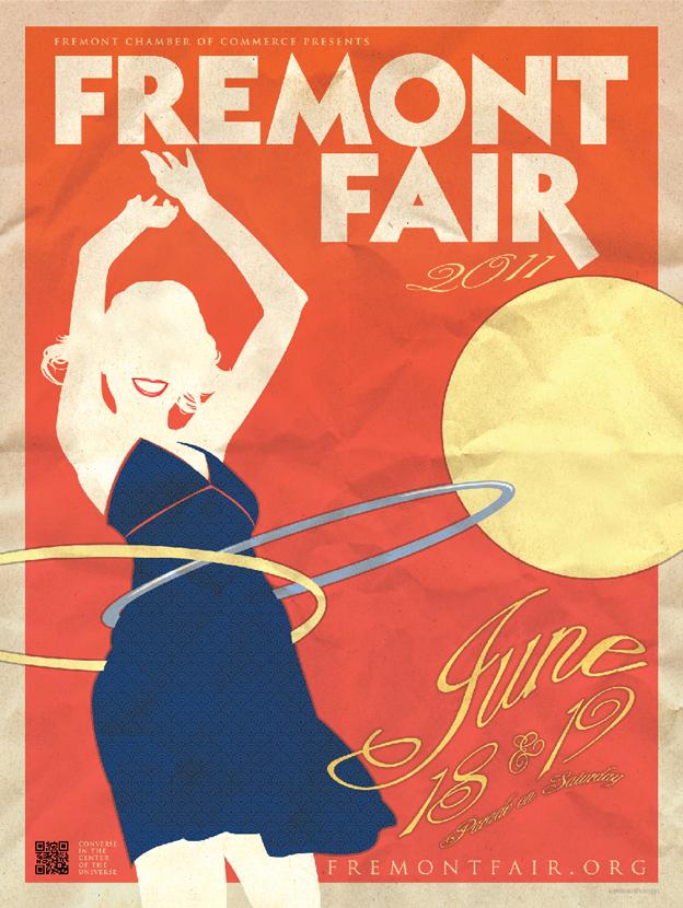 2011 Fremont fair poster