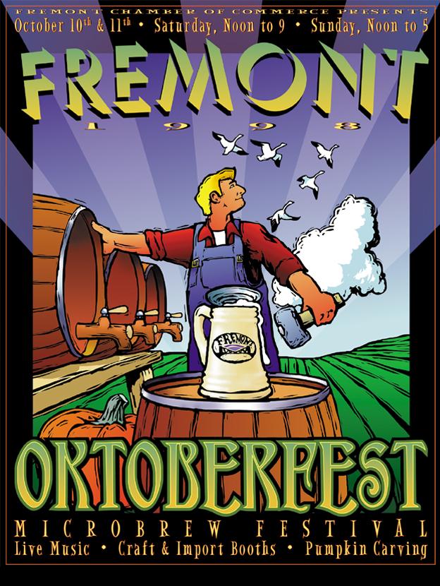 Fremont Oktoberfest poster 1998