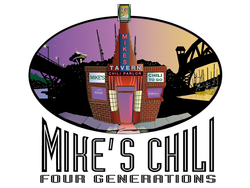 Mike's Chili T-shirt design
