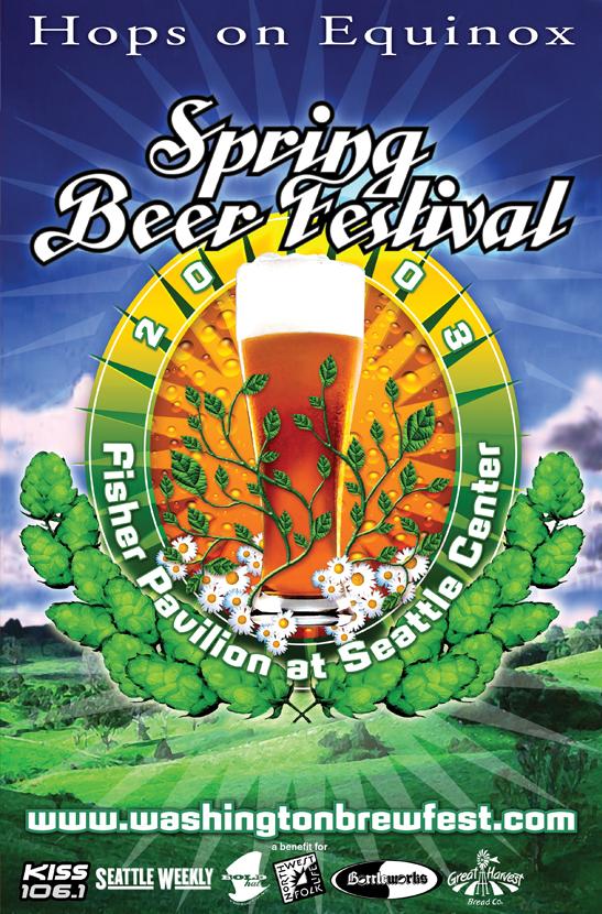 Spring Beer Fest poster | 2003
